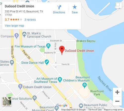 Beaumont-Edison-Branch-Map