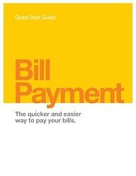 Bill Pay Quick Start
