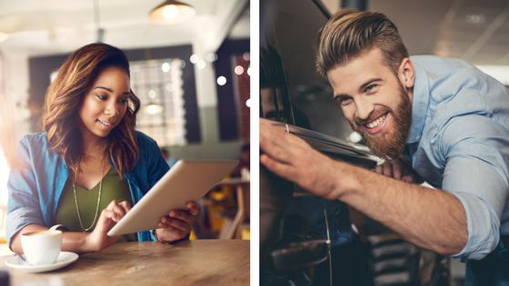 Online vs. Dealership