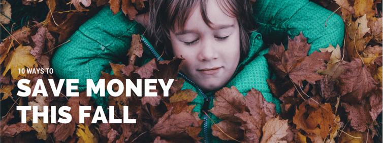 Fall Saving Tips Blog