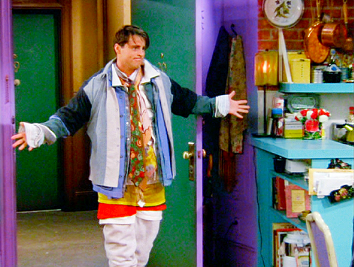 Joey All The Clothes