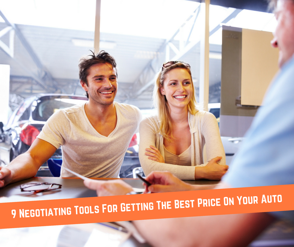 9 Negotiating Tools for Getting the Best Price On Your Auto