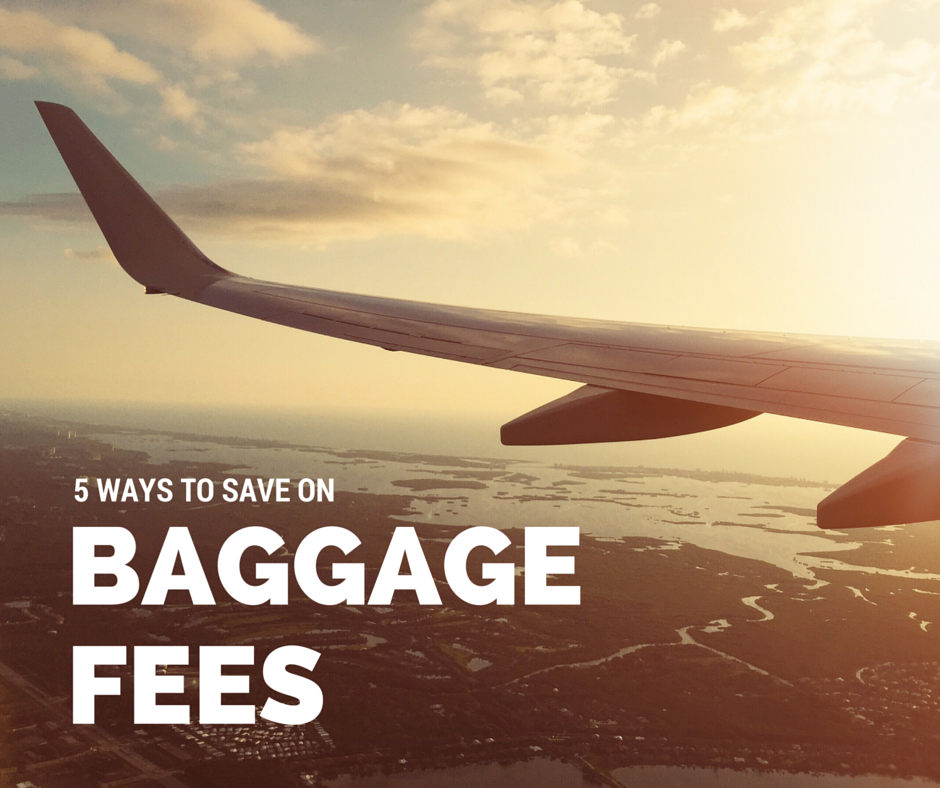 5 Ways to Save On Baggage Fees